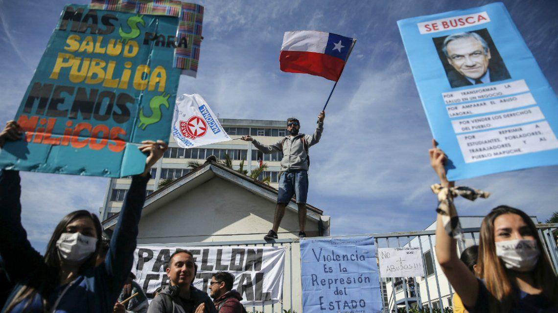 Crisis en Chile: el Ejército levantó el toque de queda en Santiago y Valparaíso