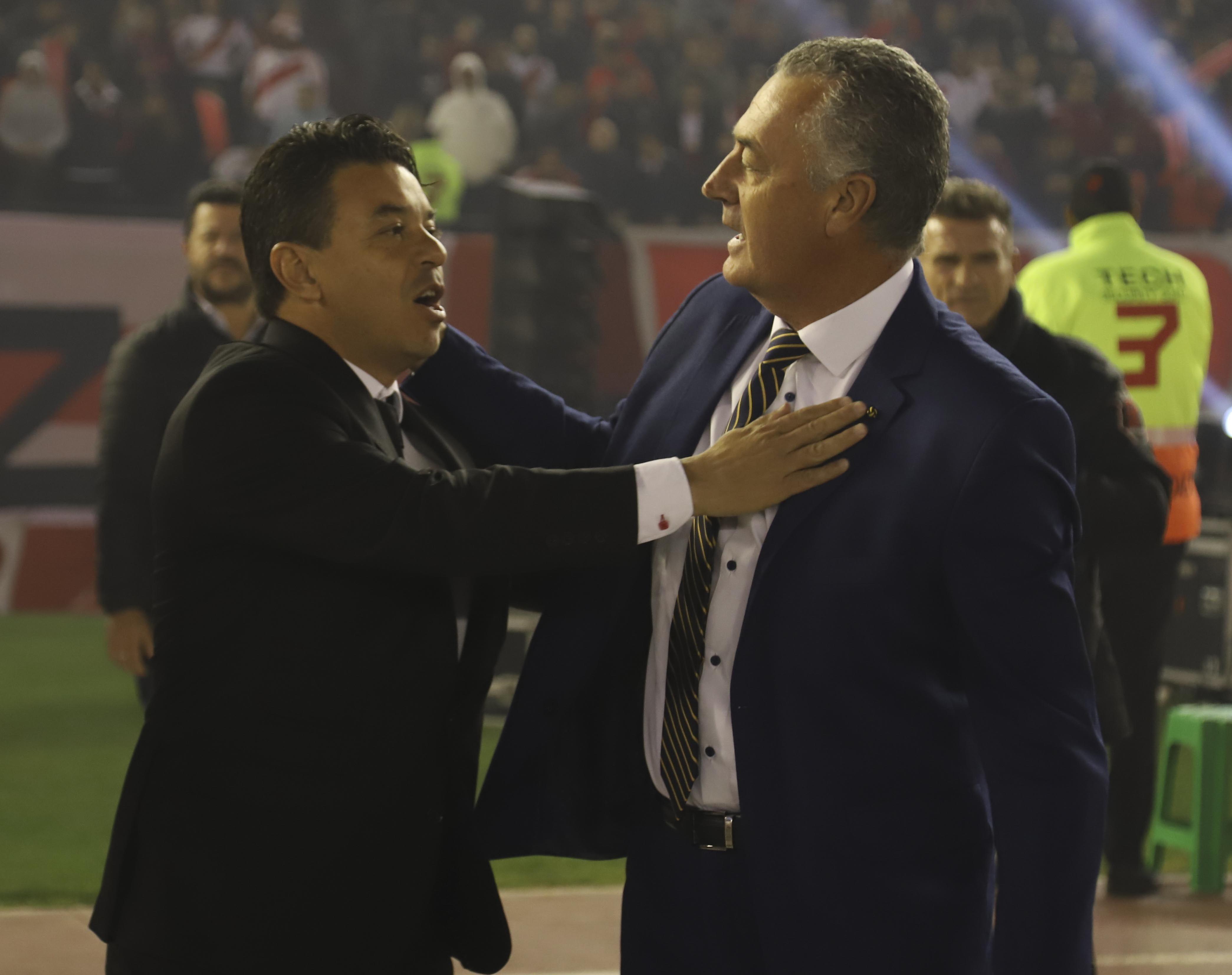 Marcelo Gallardo y Gustavo Alfaro