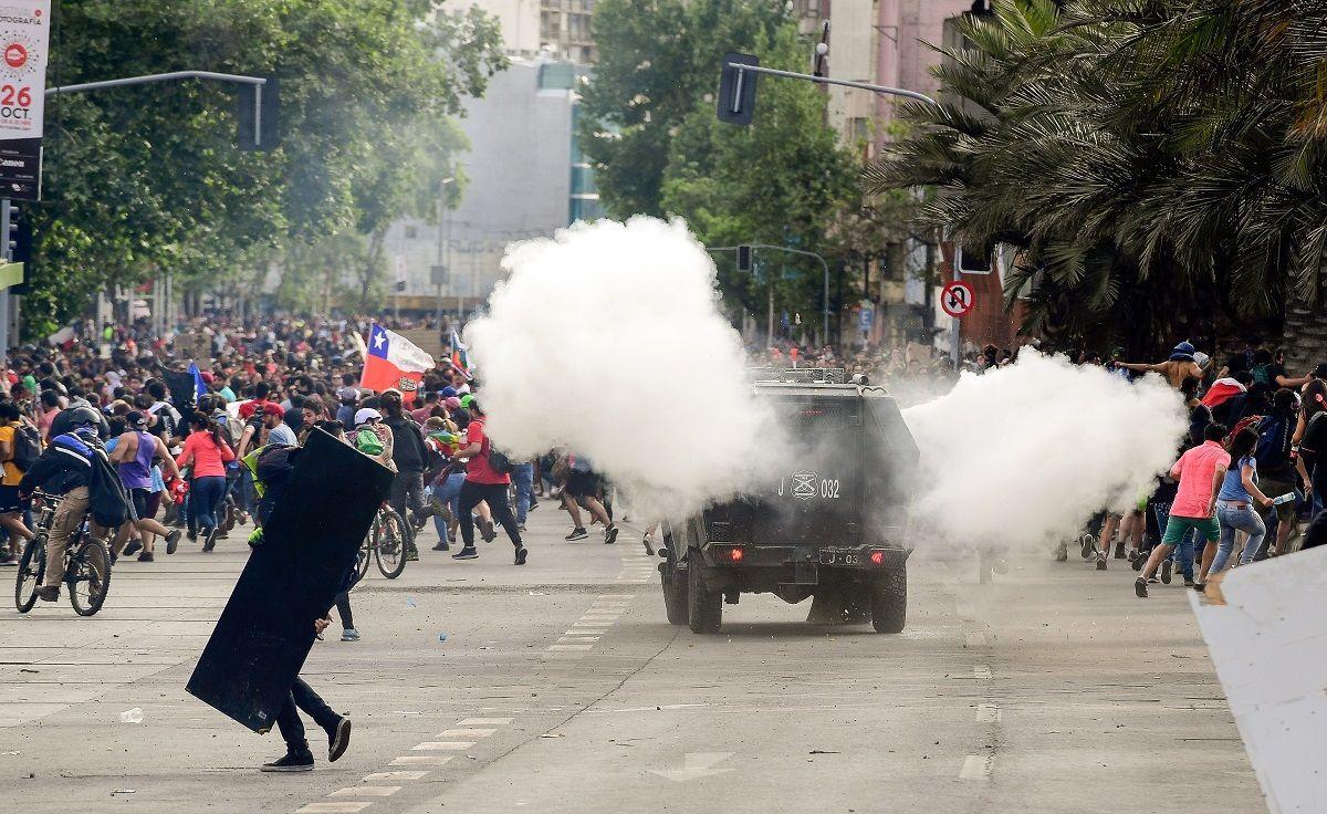 Chile: la Cruz Roja asegura que son más de 2.500 los heridos por el estallido social