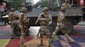 Piñera decretó que más militares salgan a las calles de Chile