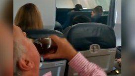 Héroe del whisky: mientras todos rezaban por una supuesta falla en el avión