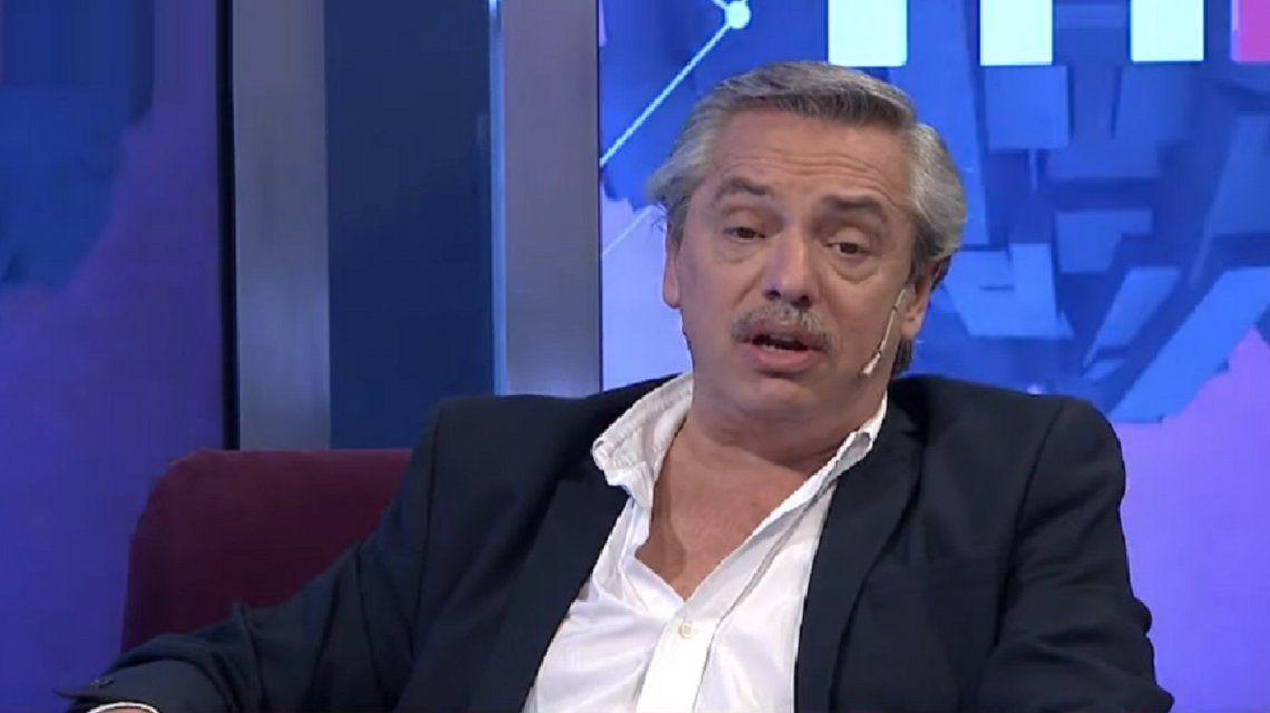Alberto Fernández en C5N: Si Macri se va a dormir le tocaré el timbre y le pediré que se levante para solucionar los problemas