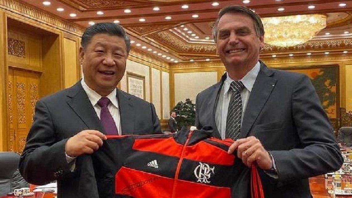 Bolsonaro ya ve a Flamengo como campeón ante River: La Copa es nuestra