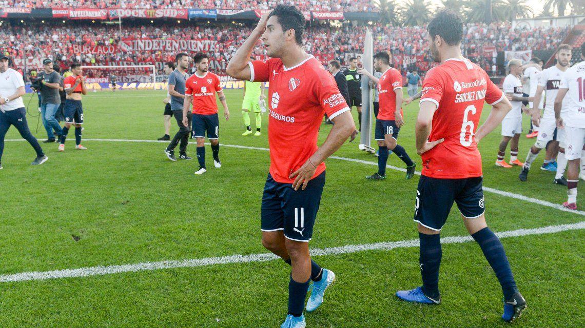 Lanús eliminó a Independiente de la Copa Argentina y Beccacece quedó en la cuerda floja