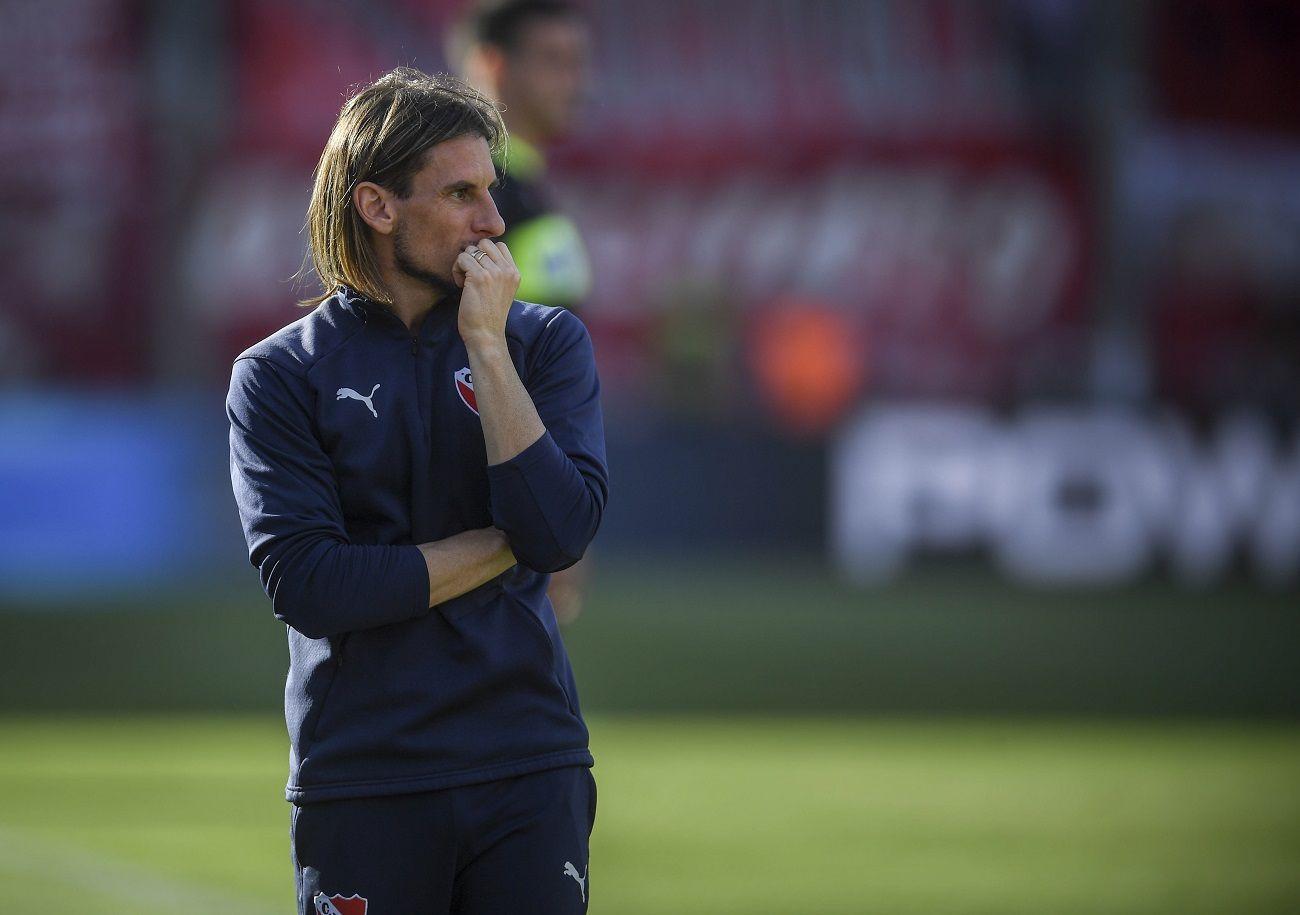 Sebastián Beccacece dejó de ser el entrenador de Independiente