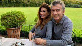 Juliana Awada y Mauricio Macri en la quinta Los Abrojos