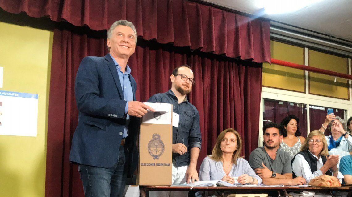 Macri: Si el resultado es parejo, tendremos que esperar