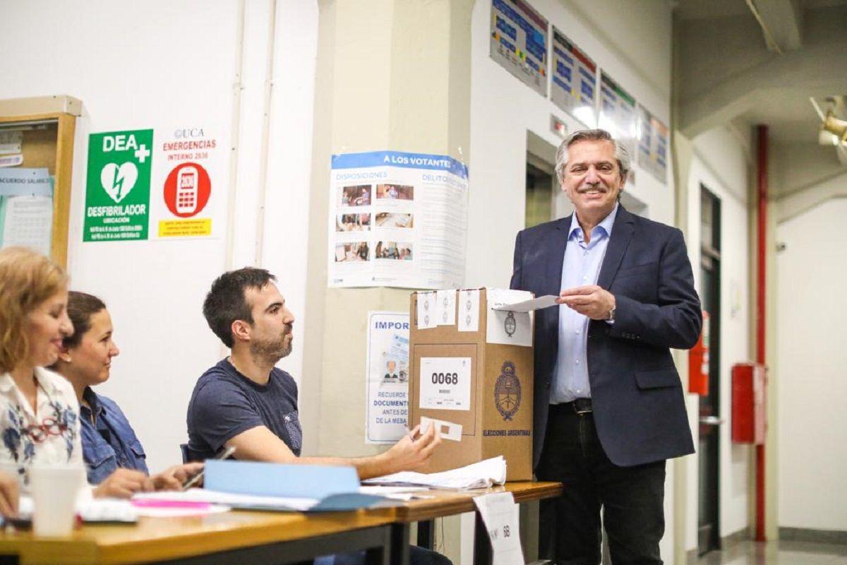 Alberto Fernández, sobre esperar el escrutinio definitvo: No fue afortunado lo que dijo Peña