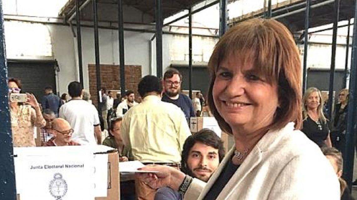 Patricia Bullrich, tras la derrota de Macri en las elecciones: Me voy con la frente alta
