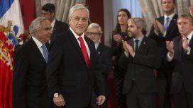 Luego de anunciar medidas económicas, Piñera nombró a un nuevo gabinete