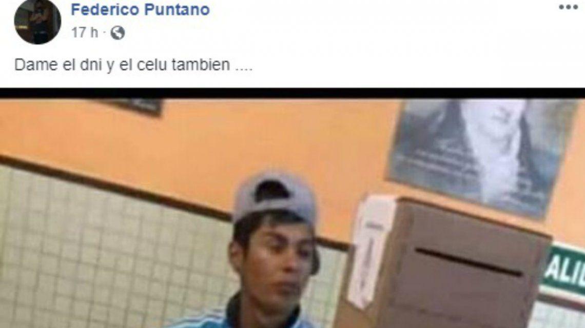 Discriminaron a un joven que fiscalizó en Moreno por cómo fue vestido: Dame el DNI y tu celu también