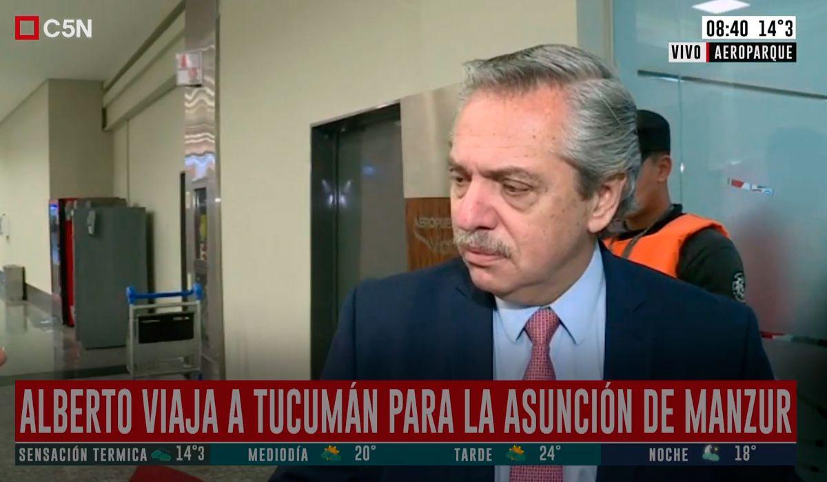Alberto Fernández, tras la reunión con Macri: Ambos queremos una transición tranquila