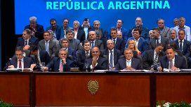 Tucumán: Alberto Fernández participó del acto de asunción de Juan Manzur