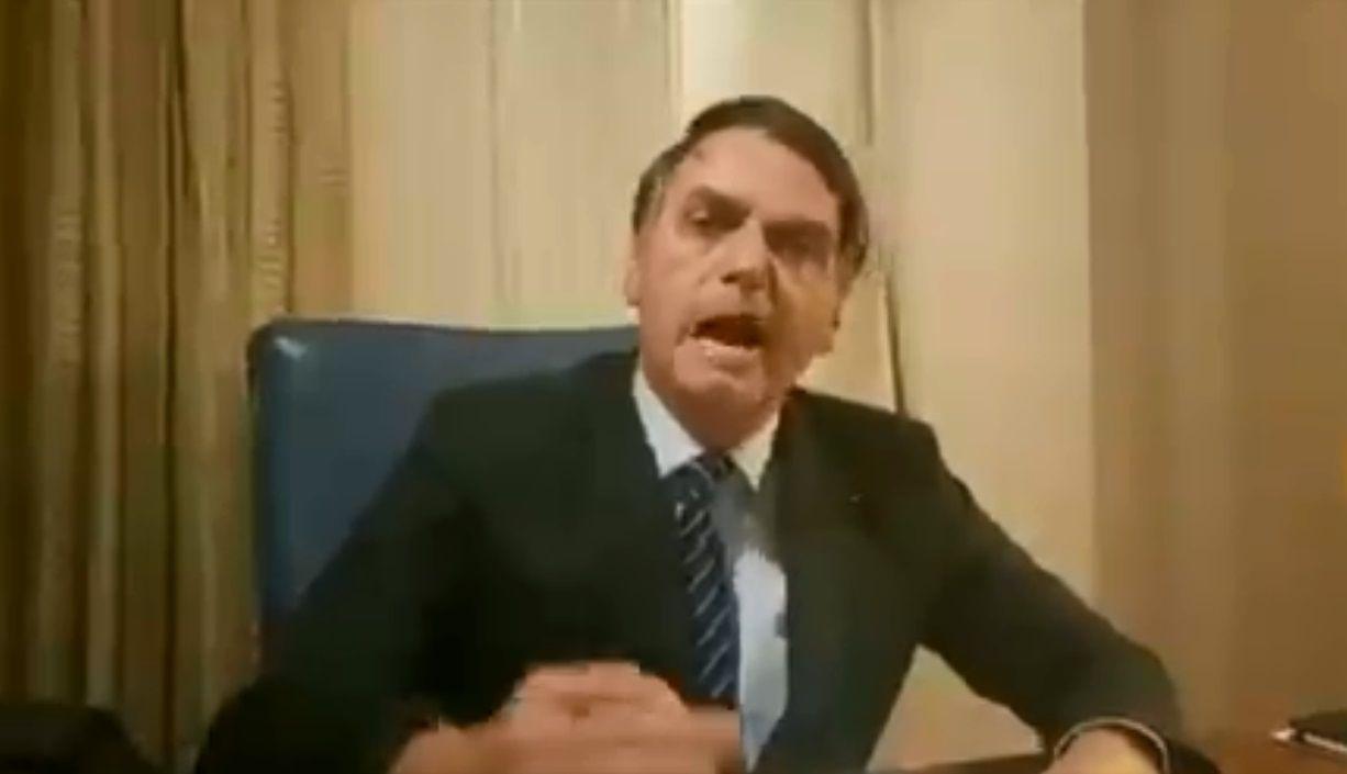 Bolsonaro, furioso por su vinculación con el crimen de Marielle Franco
