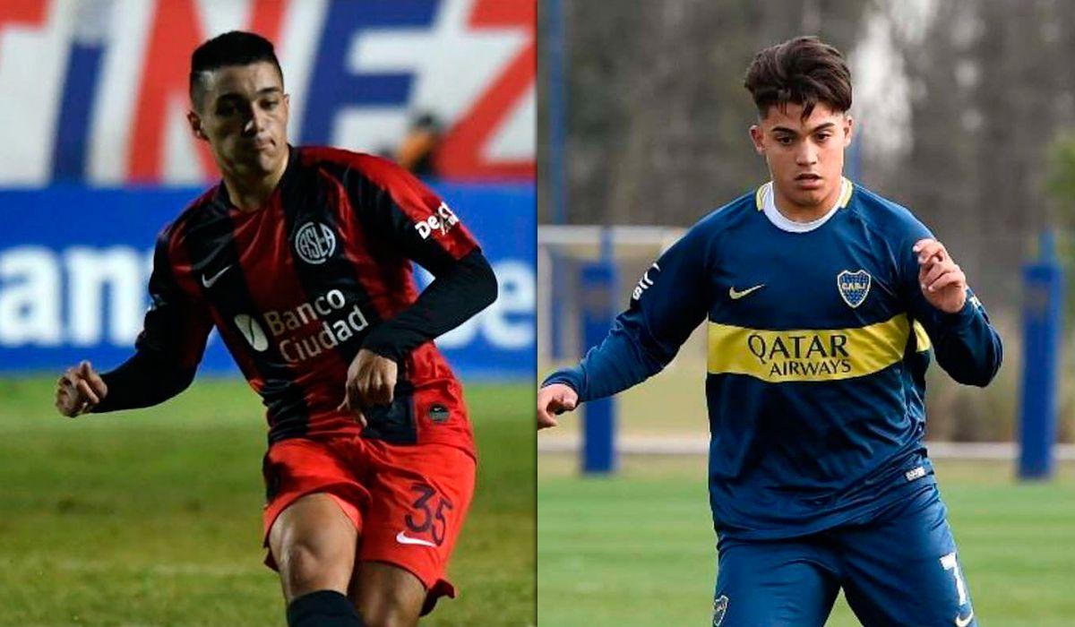 Dos promesas de Boca y San Lorenzo están en la mira del Barcelona