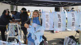 Primera protesta tras las elecciones: organizaciones sociales marcharon al FMI
