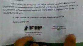Desde AFIP advirtieron sobre una estafa que llega por carta con el sello del fisco