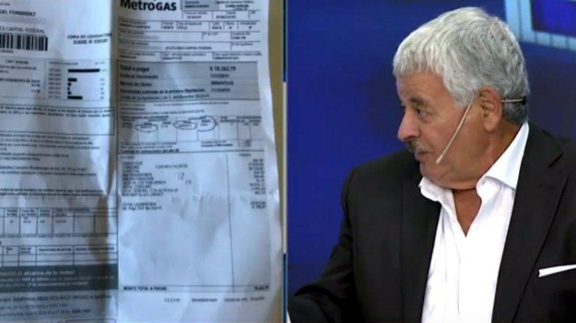 Tití Fernández denunció una maniobra electoralista en su factura de gas: Pagaba $358 y ahora me vinieron $23.400