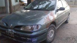 El Renault Megane de la víctima