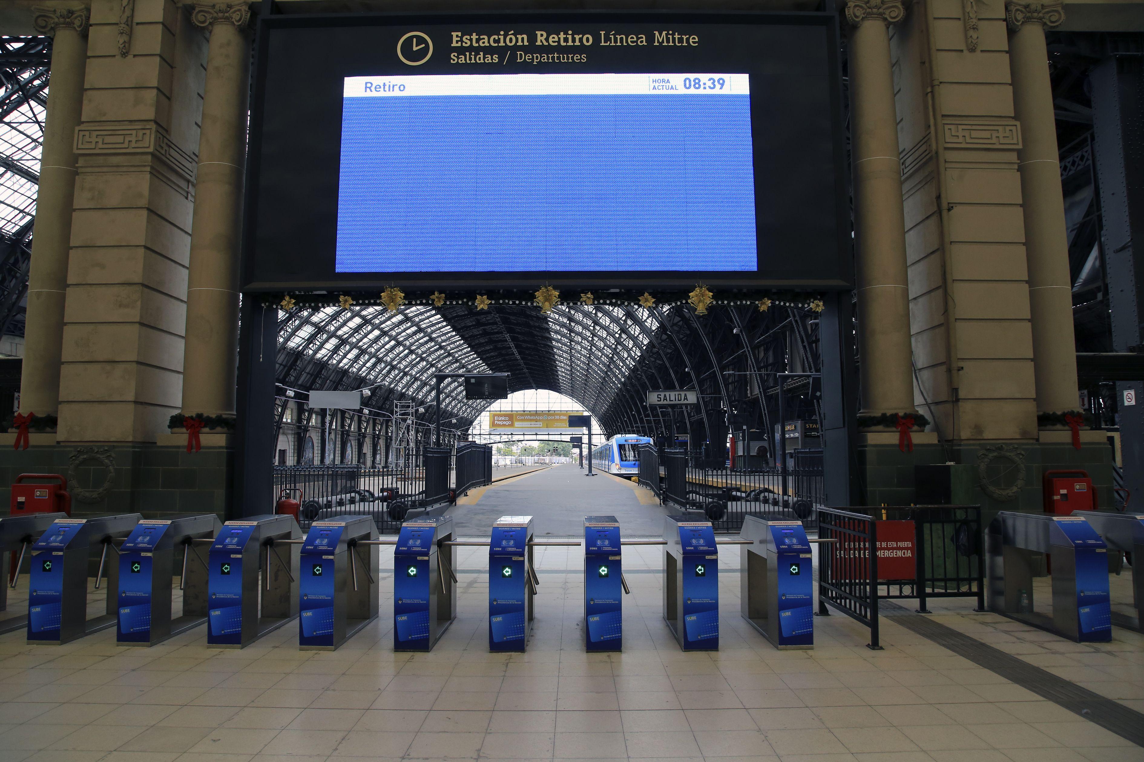 Viernes complicado para viajar: sin trenes hasta las 9 por asambleas de los ferroviarios