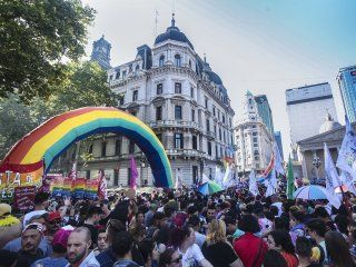 el mensaje de alberto fernandez por una nueva marcha del orgullo