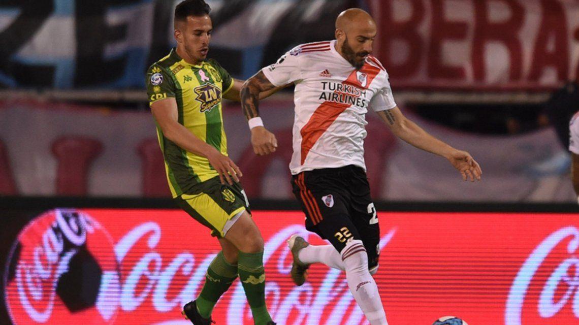 River le ganó a Aldosivi en Mar del Plata y alcanzó a Argentinos en la punta de la Superliga