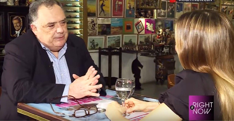 Eduardo Valdés, en Right Now: Ojalá que Macri lo invite al Papa a la asunción de Alberto
