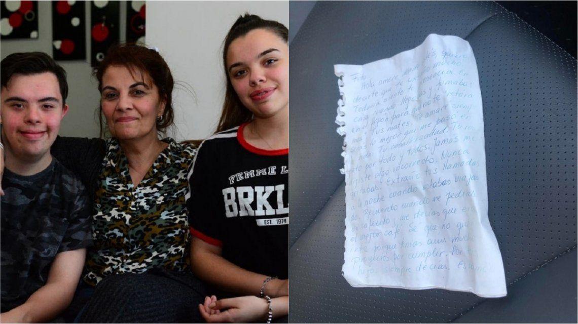 Escribieron una carta para elaborar el duelo y dos años después les llegó el pésame desde Australia