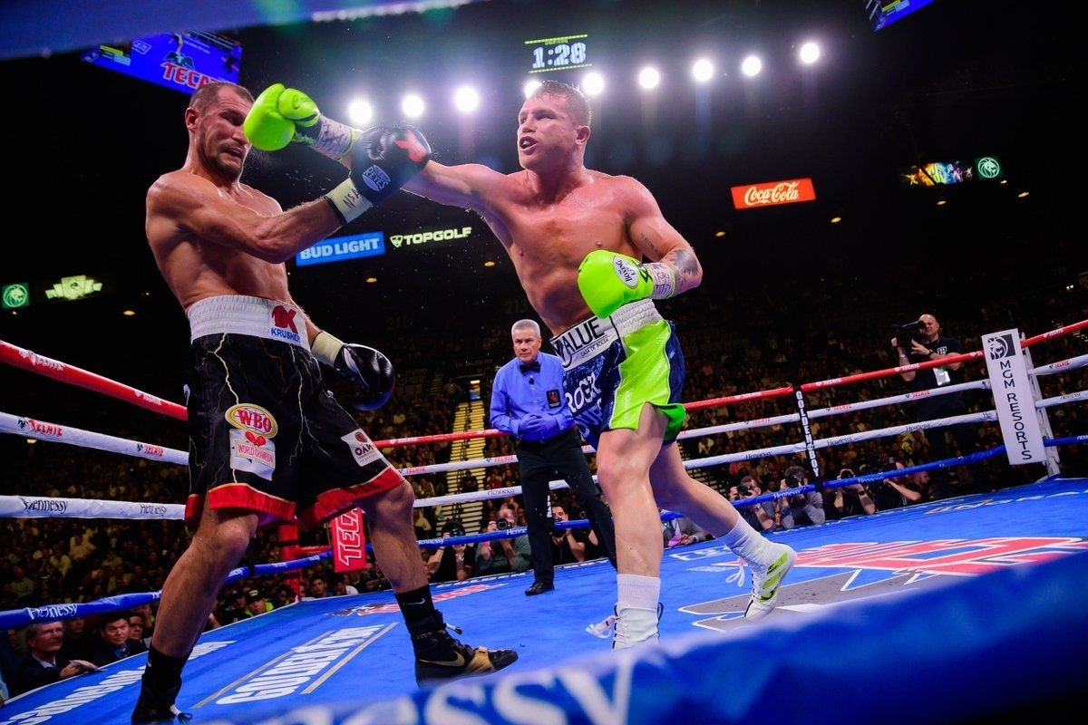 Boxeo: el KO del Canelo al ruso Kovalev