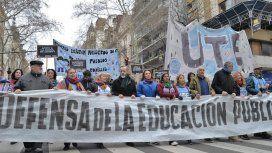 Los docentes anunciaron un paro para este martes en la Ciudad