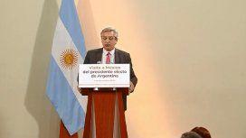 Alberto adelantó que seguirá el cepo y revisará las tarifas: No pueden estar dolarizadas
