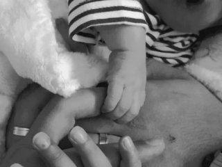 publicaron la primera foto de rodrigo, el bebe sin rostro