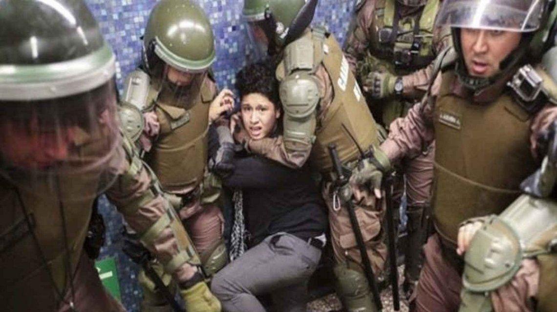 Chile: para el General Director de Carabineros  los excesos de sus subordinados son bastante aceptables