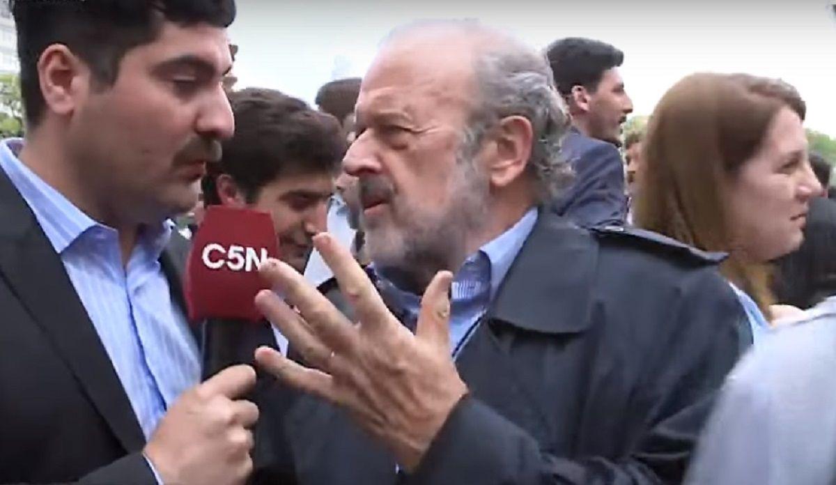 Masivo repudio al ataque al periodista de C5N Lautaro Maislin