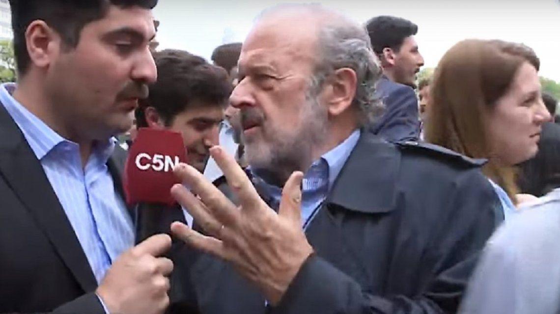 Masivo repudio al ataque al periodista de C5N Lautaro Maislin - Minutouno.com