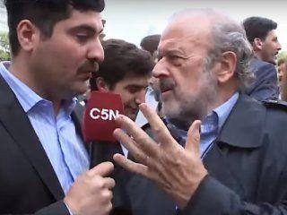 nuevo ataque de juntos por el cambio a un periodista de c5n: su rol es ser un violento