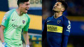 Boca: Andrada y Mauro Zárate salieron a decir que no se pelearon
