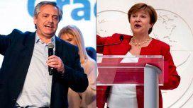 Alberto Fernández habló con la directora del FMI y le propuso pagar, pero sin ajuste