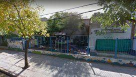 El jardín de infantes, ubicado en la calle Guerrico al 700, en San Isidro