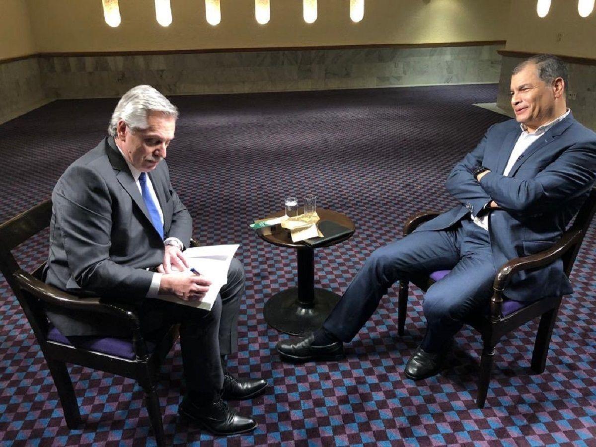 Alberto Fernández: El mundo tiene que entender que no somos como Macri, nosotros no mentimos