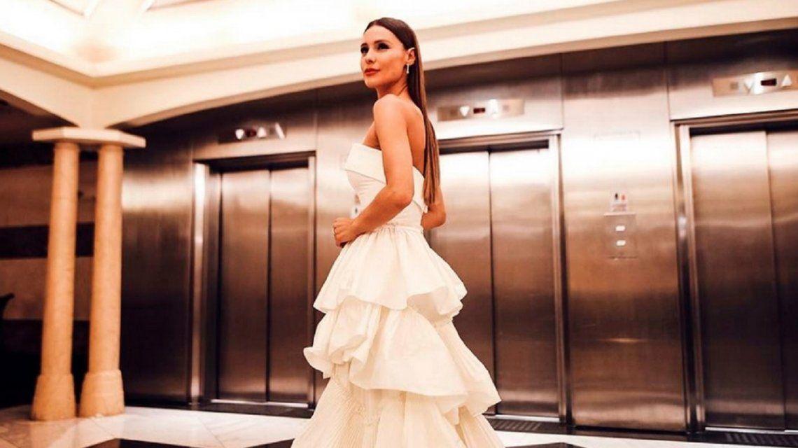 Pampita, emocionada al elegir su vestido de novia: Estoy en otro momento de mi vida, súper feliz