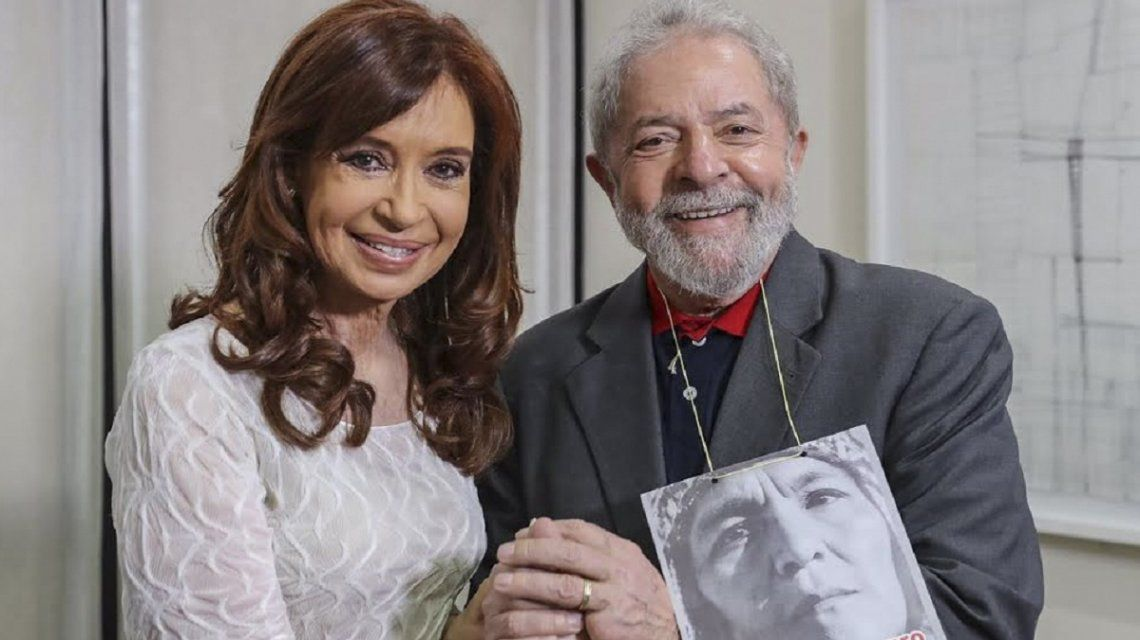 Cristina Kirchner y Lula da Silva
