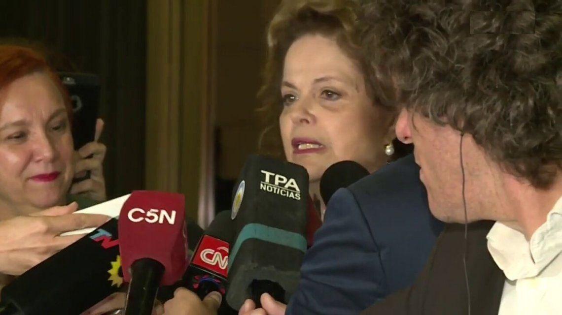 Dilma Rousseff: Lula es inocente, no nos basta con la libertad