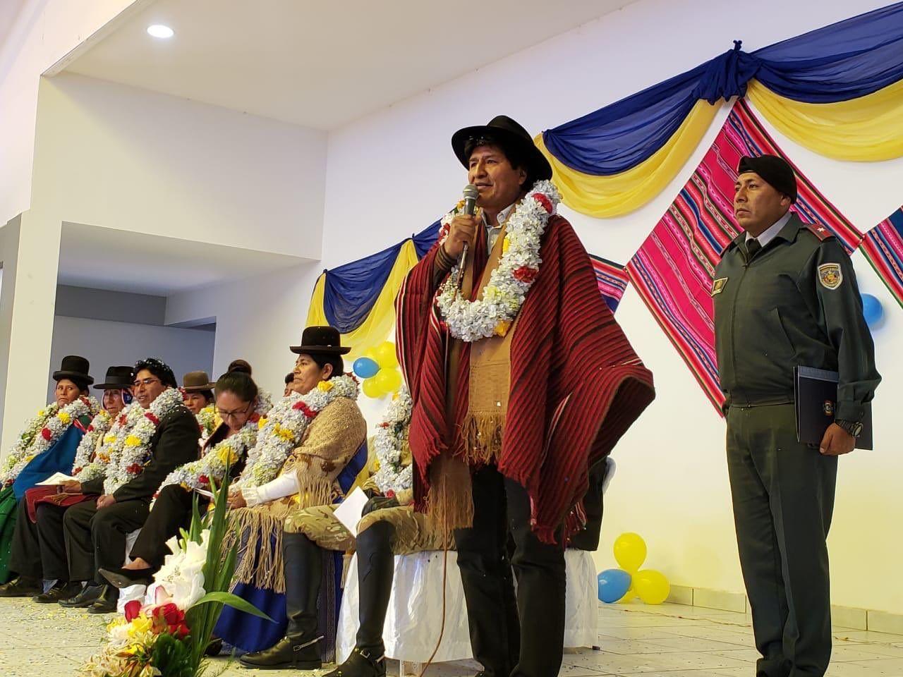 El gobierno de Evo Morales denunció un intento de golpe de Estado en Bolivia