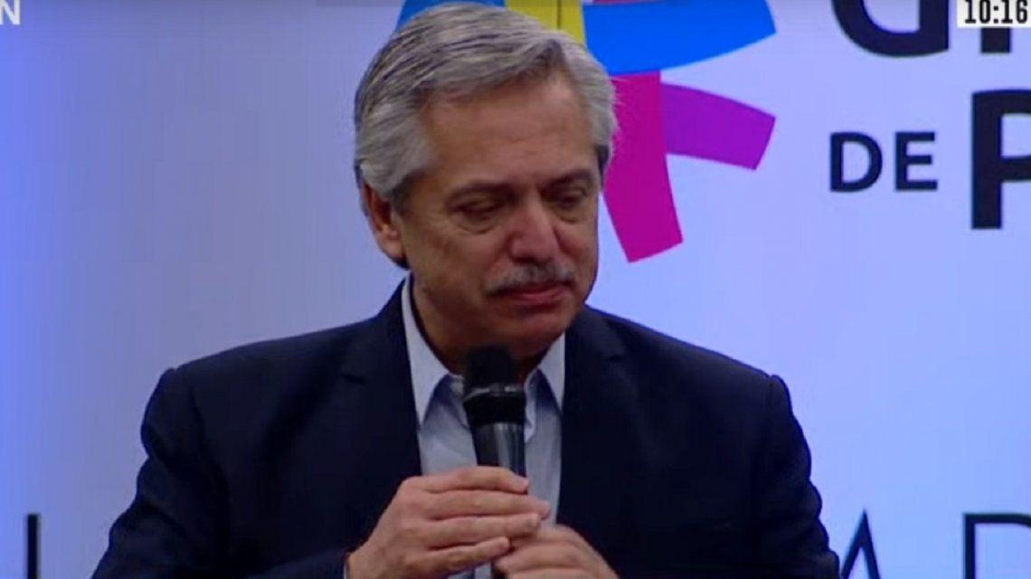 Alberto Fernández reveló que habló con Macron y dijo que le pidió a Piñera que recupere la paz de Chile