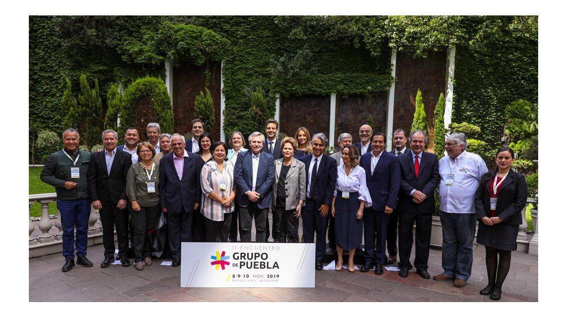 Con Alberto Fernández como anfitrión, comenzó en Buenos Aires el II encuentro del Grupo de Puebla