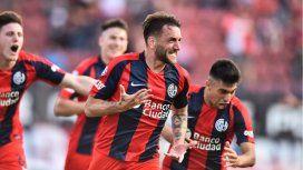 San Lorenzo goleó a Argentinos: Monarriz sigue hasta diciembre