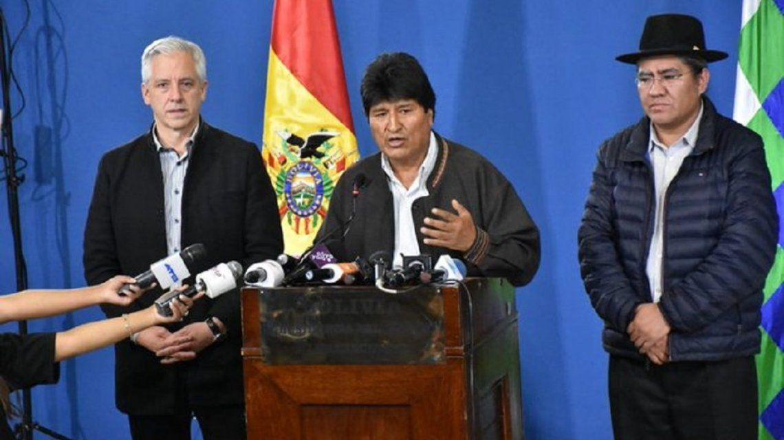 Evo Morales: Convoco a nuevas elecciones generales