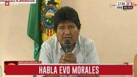 Golpe de Estado en Bolivia: Evo renunció a la Presidencia