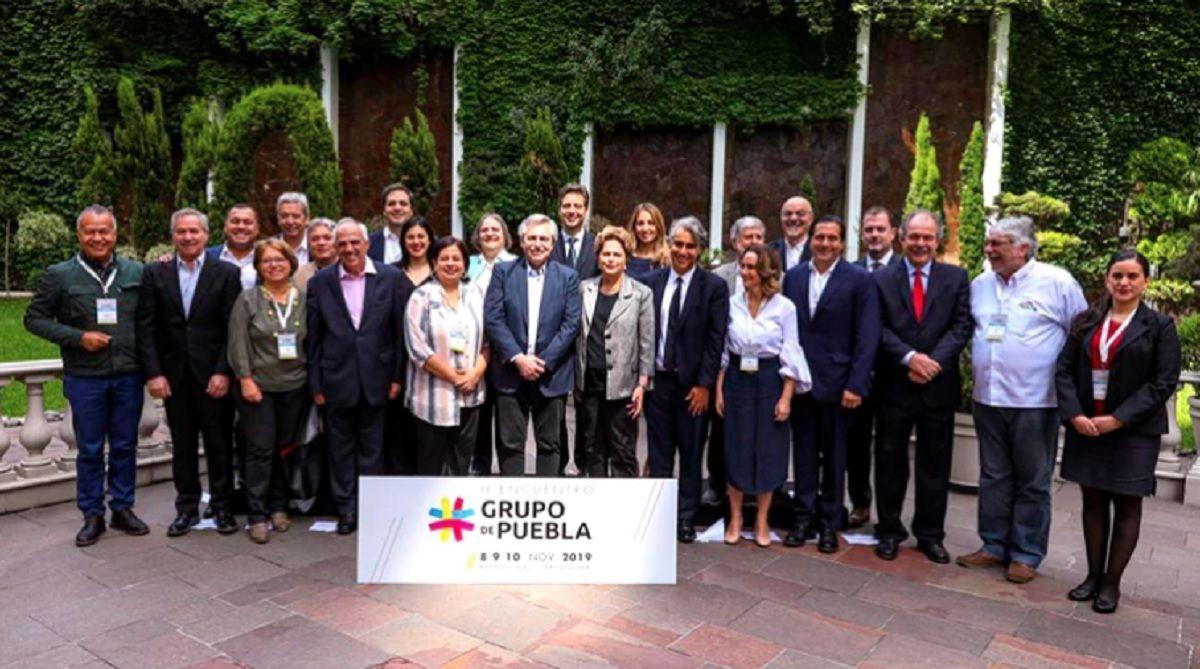 El Grupo de Puebla condenó el Golpe de Estado contra Evo Morales en Bolivia
